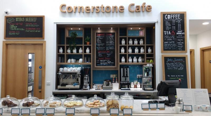 Cornerstone Cafe & Avenue Area