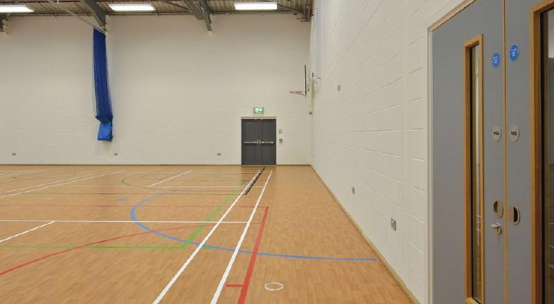 The Gillbrae Sports Hall